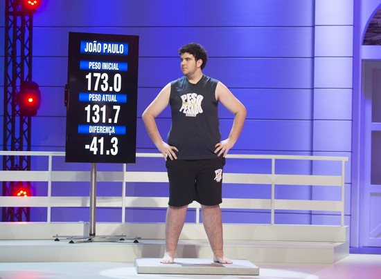 João Paulo perdeu 41,3 quilos