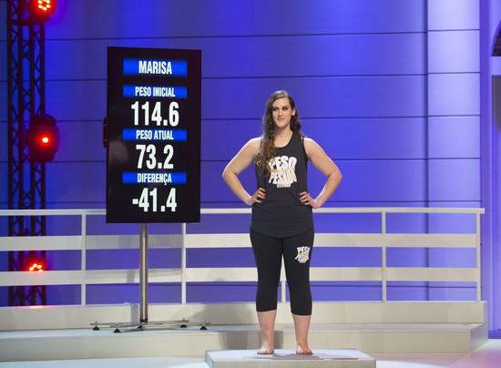 Marisa perdeu 41,4 quilos