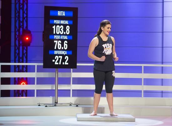 Rita perdeu 27,2 quilos