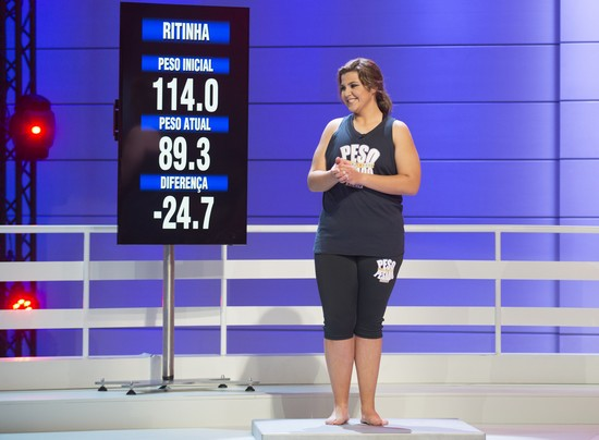 Ritinha perdeu 24,7 quilos
