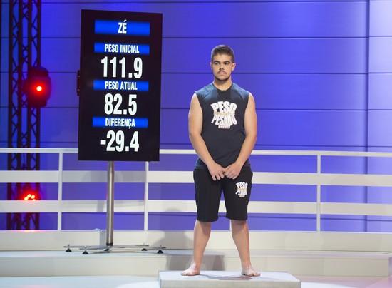 Zé perdeu 29,4 quilos