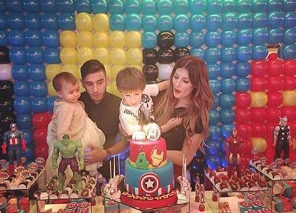 a6336a2583bb2 Salvio celebra 4º aniversário do filho - MoveNotícias