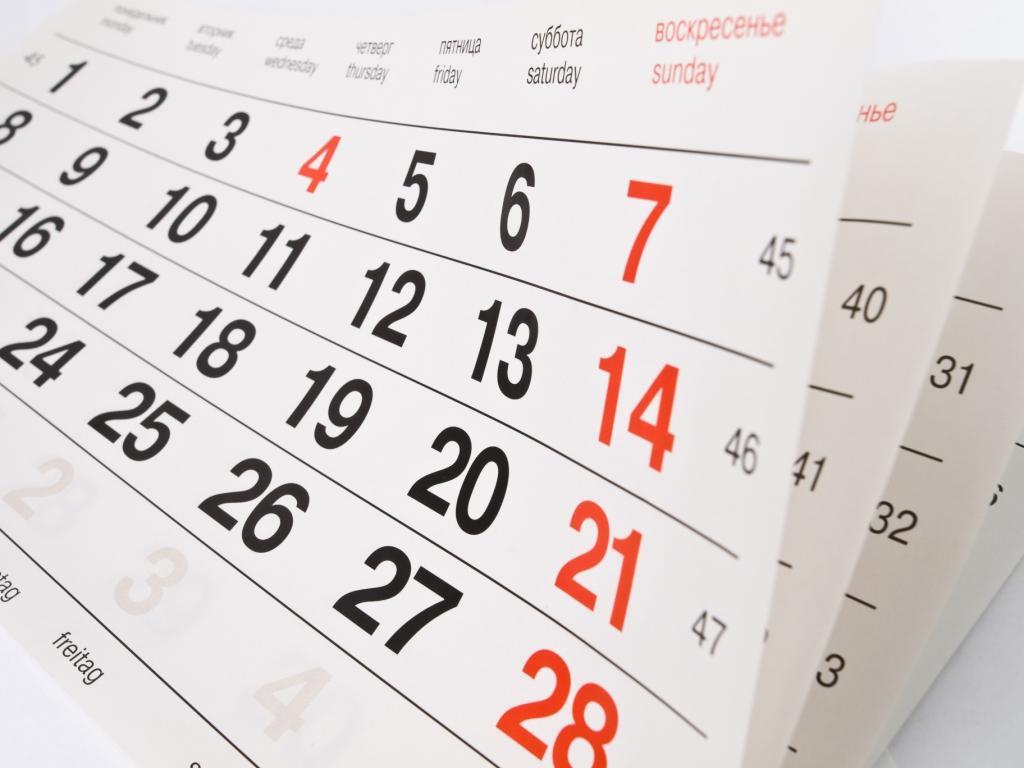 Resultado de imagem para data calendário
