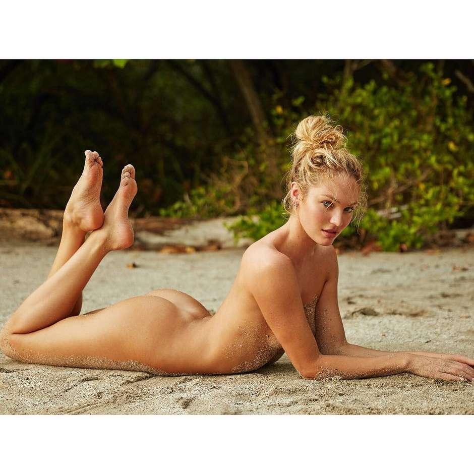 Candice Swanepoel posa completamente nua - MoveNotícias cc1664c17d