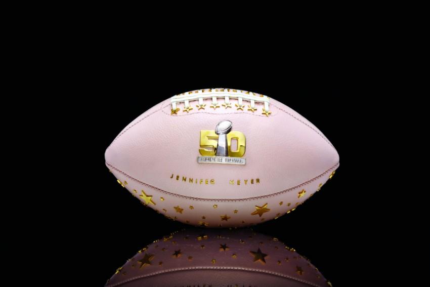 Designers Create Bespoke Footballs for Super Bowl 50