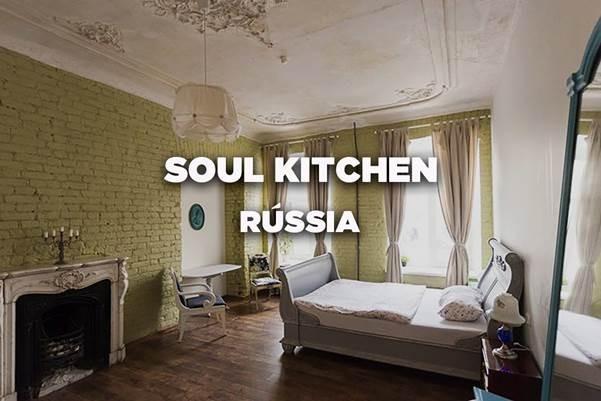 Soul Kitchen, São Petersburgo, Rússia – Vencedor de Melhor Hostel da Europa