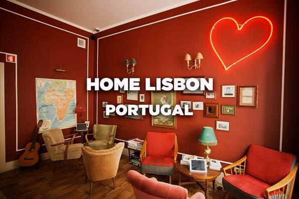 Home Lisbon, Lisboa, Portugal – Vencedor de Melhor Hostel Médio do Mundo