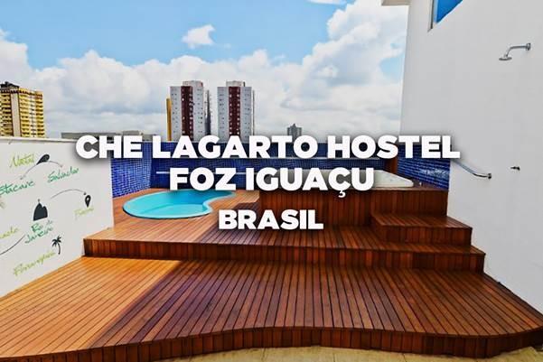 Che Lagarto Hostel Foz do Iguaçu, Foz do Iguaçu, Brasil - Vencedor de Melhor Grande Hostel