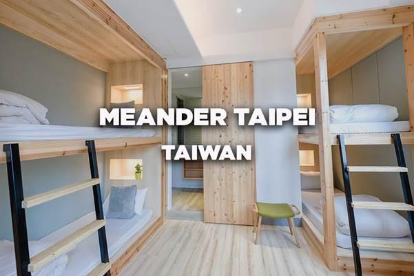 Meander Taipei, Taipei, Taiwan – Segundo Melhor Grande Hostel do Mundo