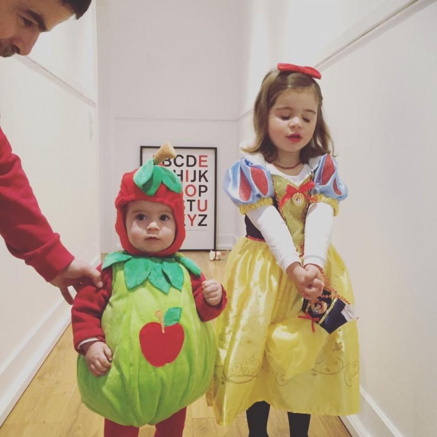Os filhos do ator Miguel Costa