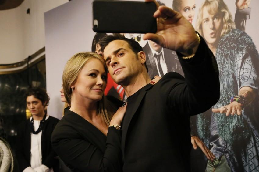 Christine Taylor e Justin Theroux