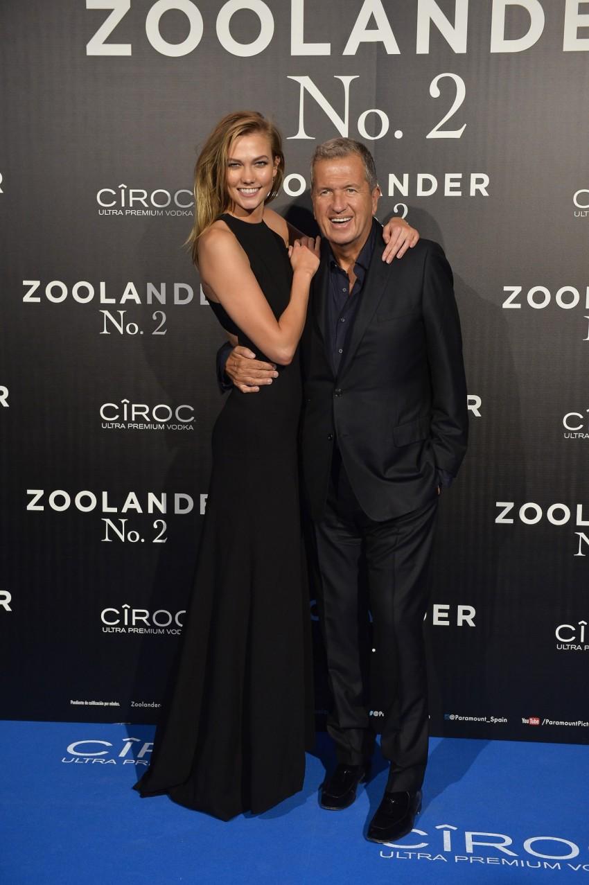 Karlie Kloss e Mario Testino