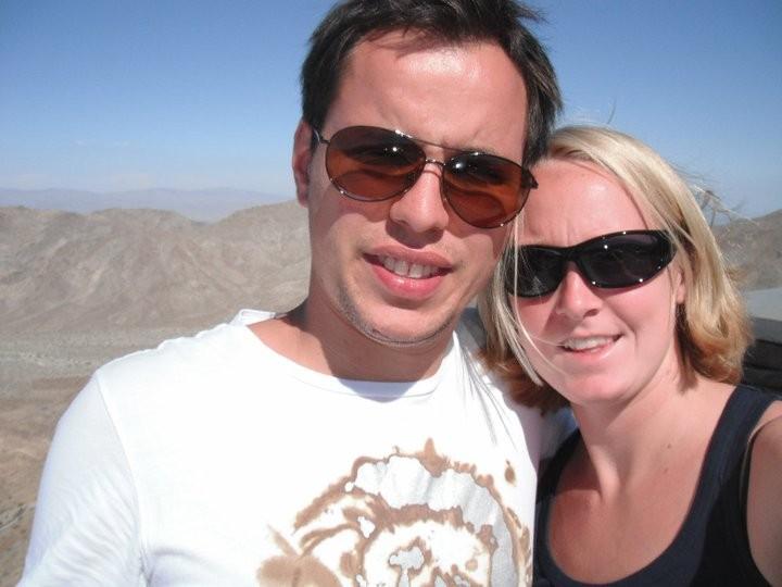 Inge Dekker e o namorado, Bas Looman