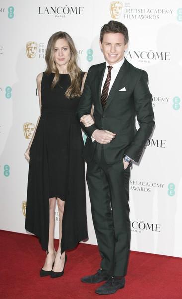 Eddie Redmayne e Hannah Bagshawe