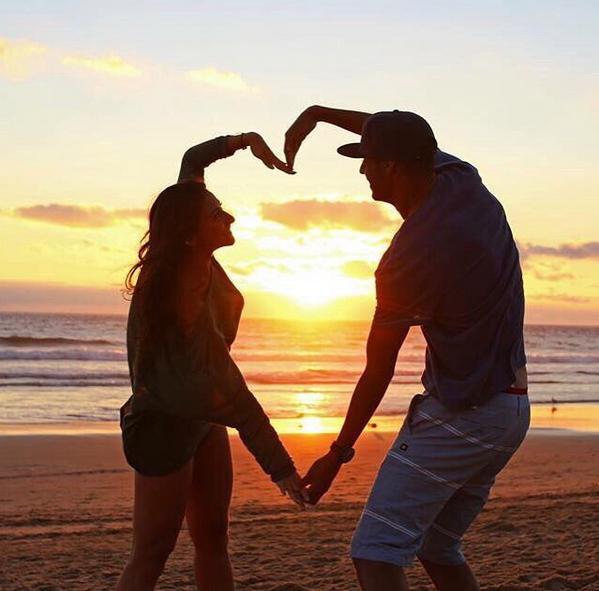 Madjer partilhou uma romântica imagem ao lado da namorada, Lynn de Sousa