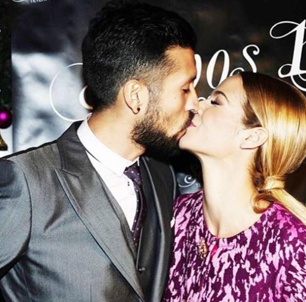 Tamara Gorro assinalou a data ao publicar uma imagem na qual surge a dar um beijo ao marido, Garay.