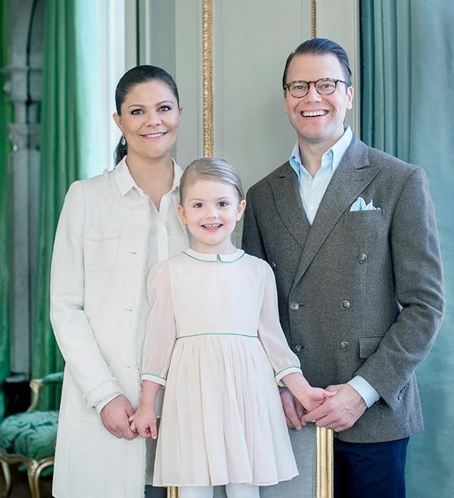 Victoria e Daniel são ainda pais de Estelle