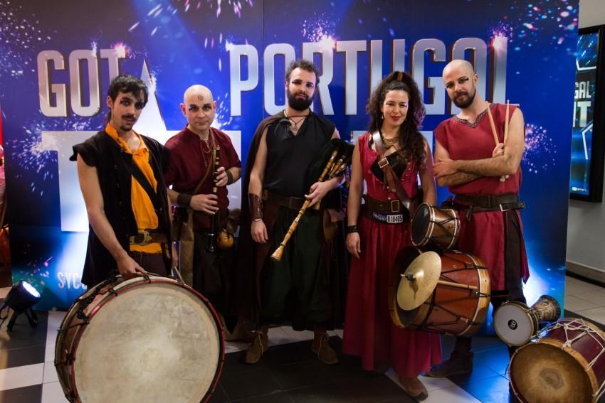Trabucos - A vinda ao Got Talent Portugal é um desafio porque é o primeiro concurso a que o grupo concorre. Vêm à procura de uma nova experiência e de visibilidade. Todos são profissionais da música e acham que a música medieval é a vertente mais apelativa do seu repertório, daí trazerem ao programa.