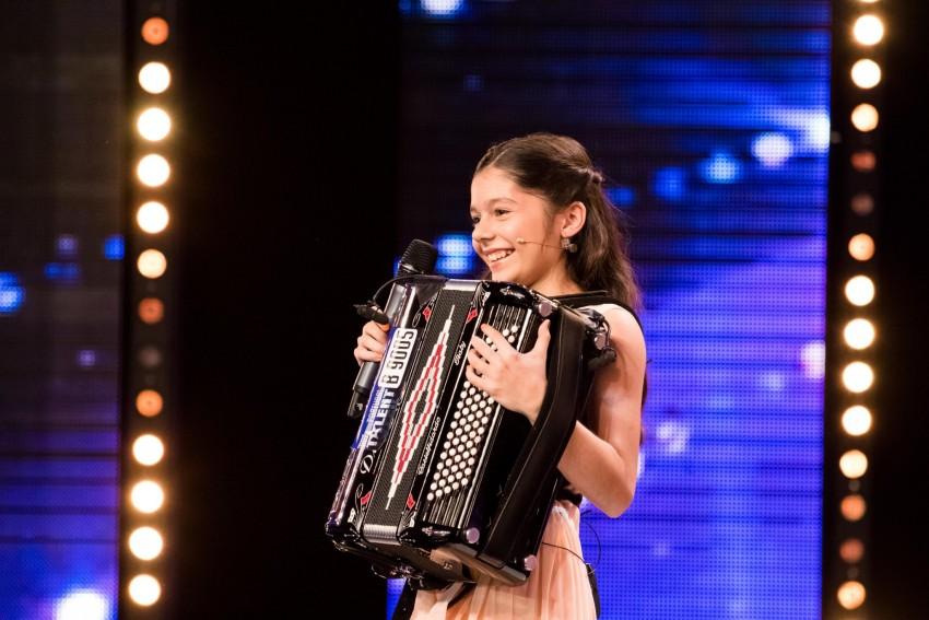 Luisa começou a tocar acordeão por influência da avó. Os avós compraram-lhe um acordeão quando tinha 8 anos. Em Got Talent Portugal espera ganhar experiência, mais à vontade em palco e ser mais conhecida.