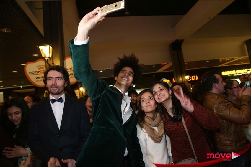 Luís Borge posou para as selfies