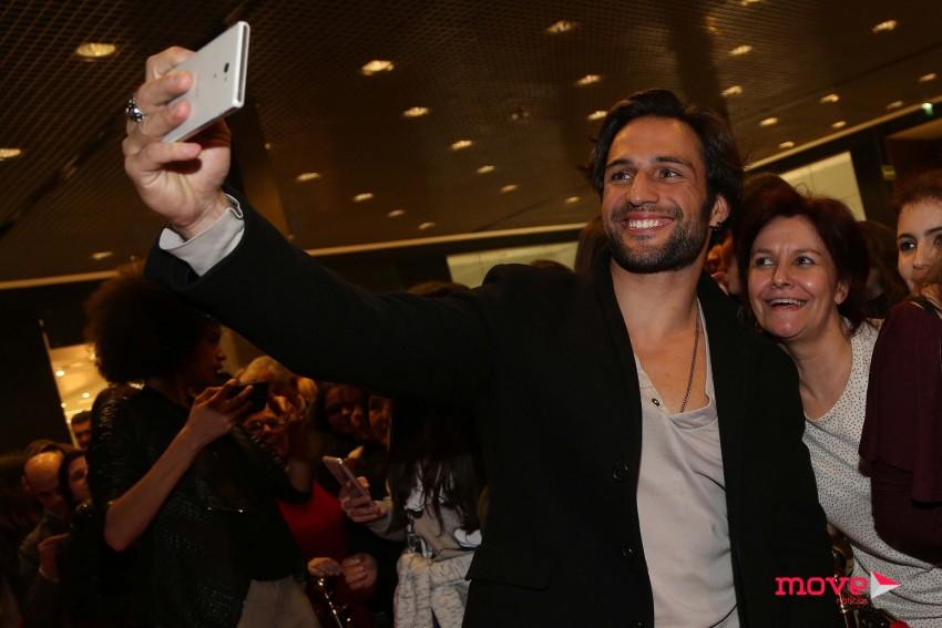 José Fidalgo tirou fotografias com os fãs