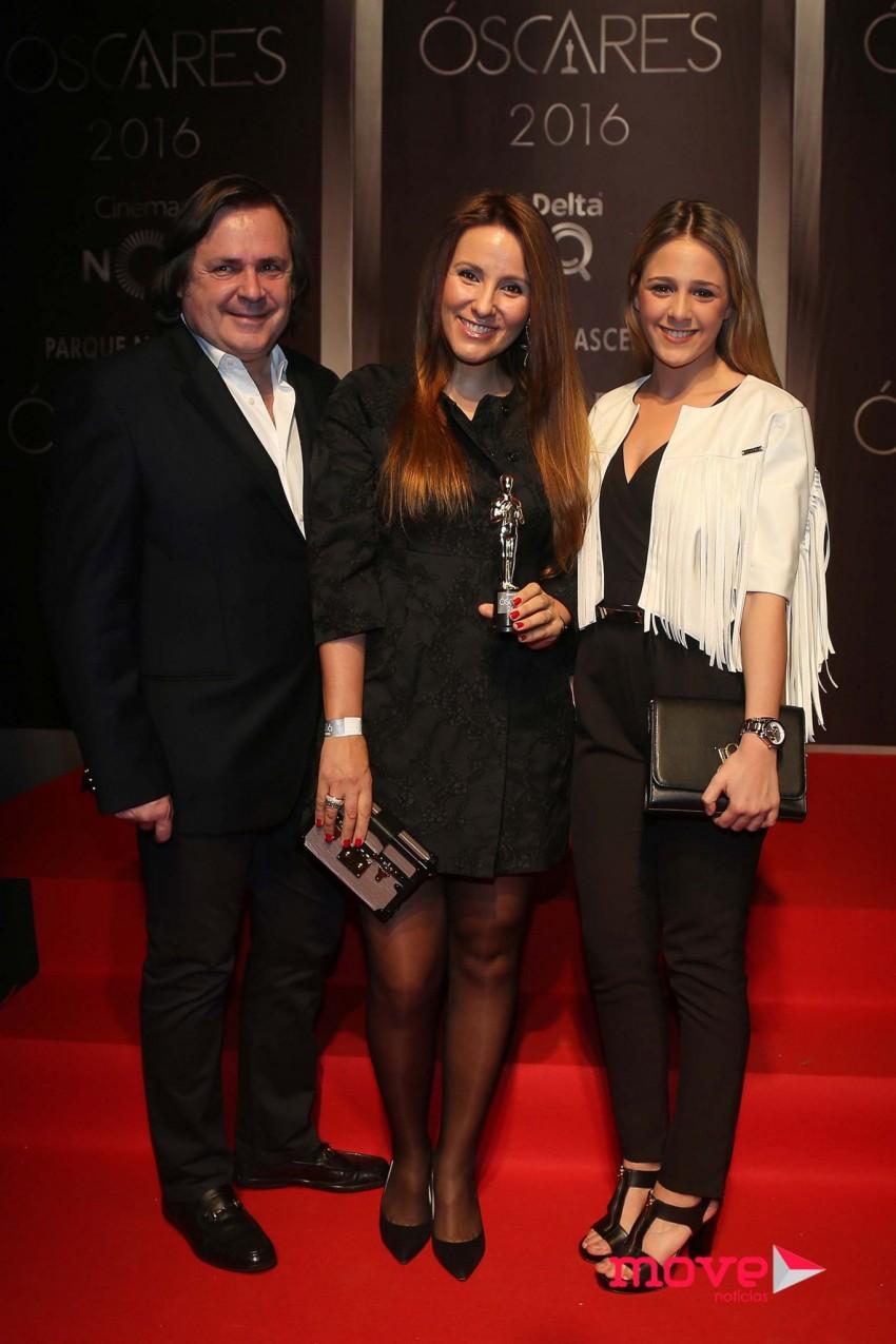 Alfredo Resende, Micaela Oliveira e Sofia Resende