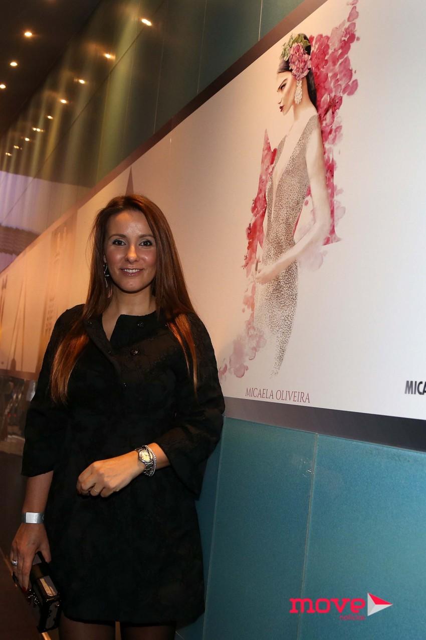A estilista Micaela Oliveira