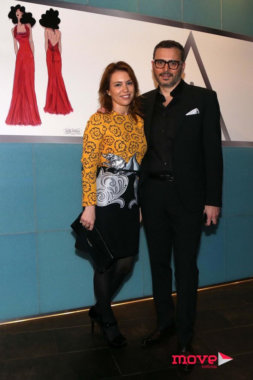 Sara e Tiago Girão também marcaram presença