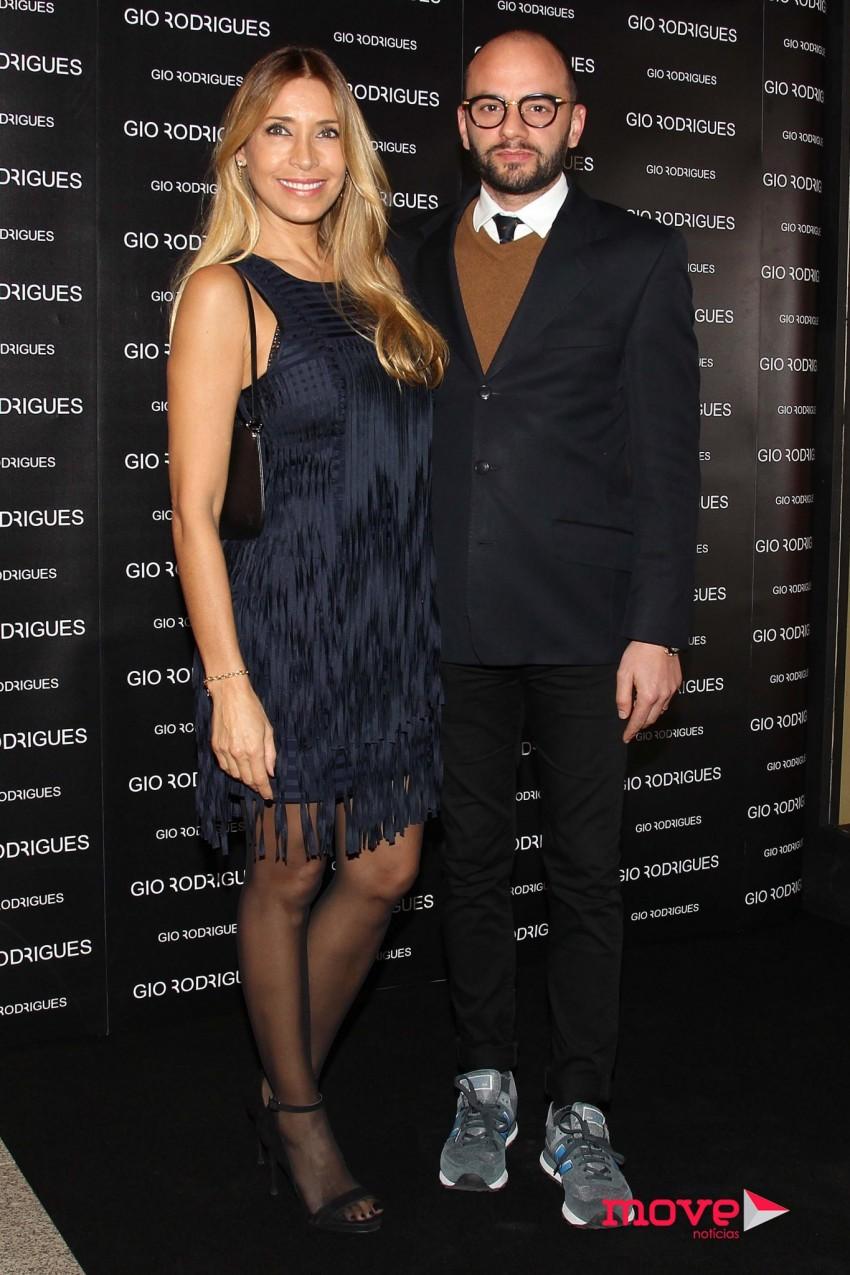 Cláudia Jacques e Olivier Silva