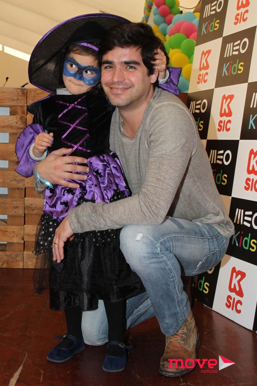 Dani com a filha, Maria