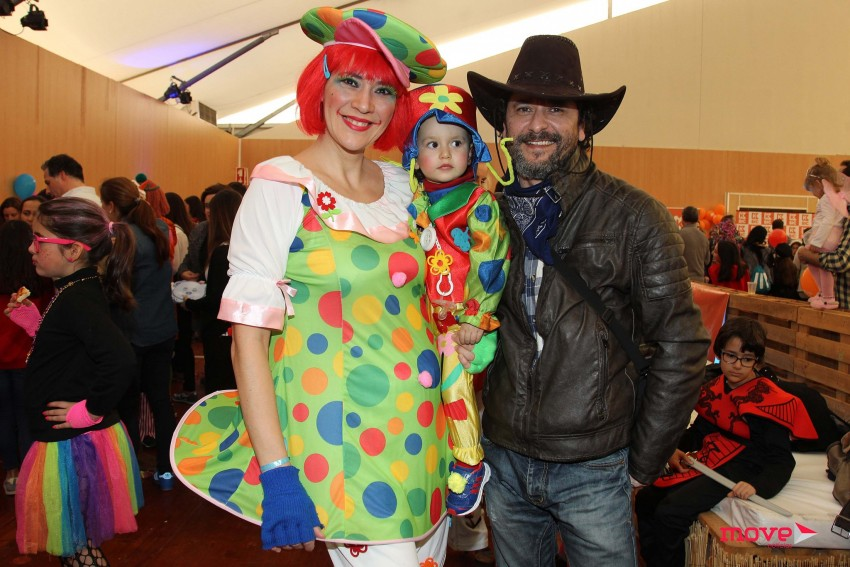Sónia Antão e Filipe Brito com a filha Carolina