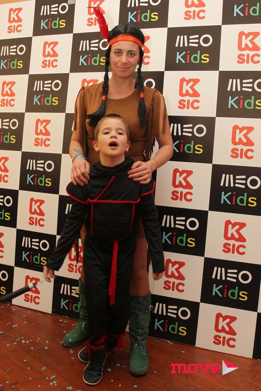 Andreia Vale com o filho, Pedro