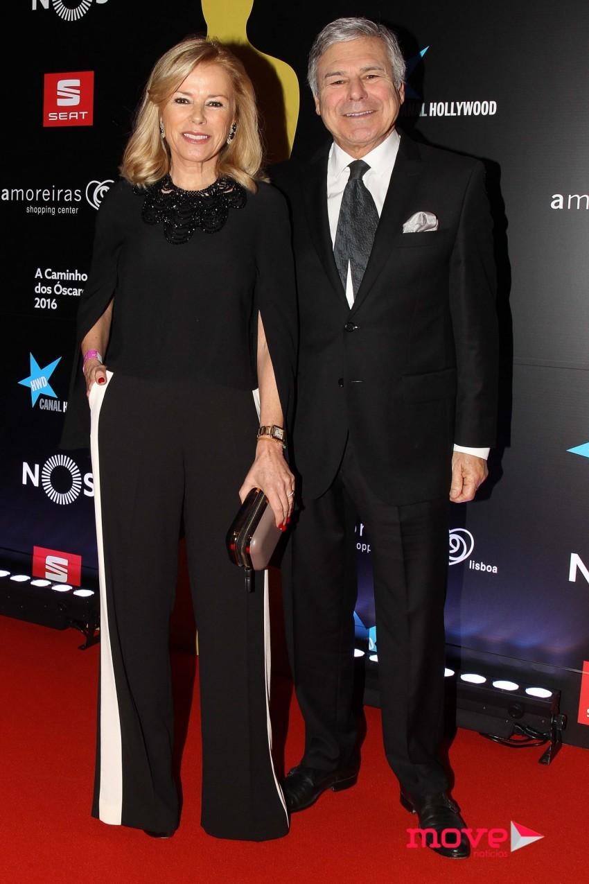 Maria José Galvão e Humberto Leal