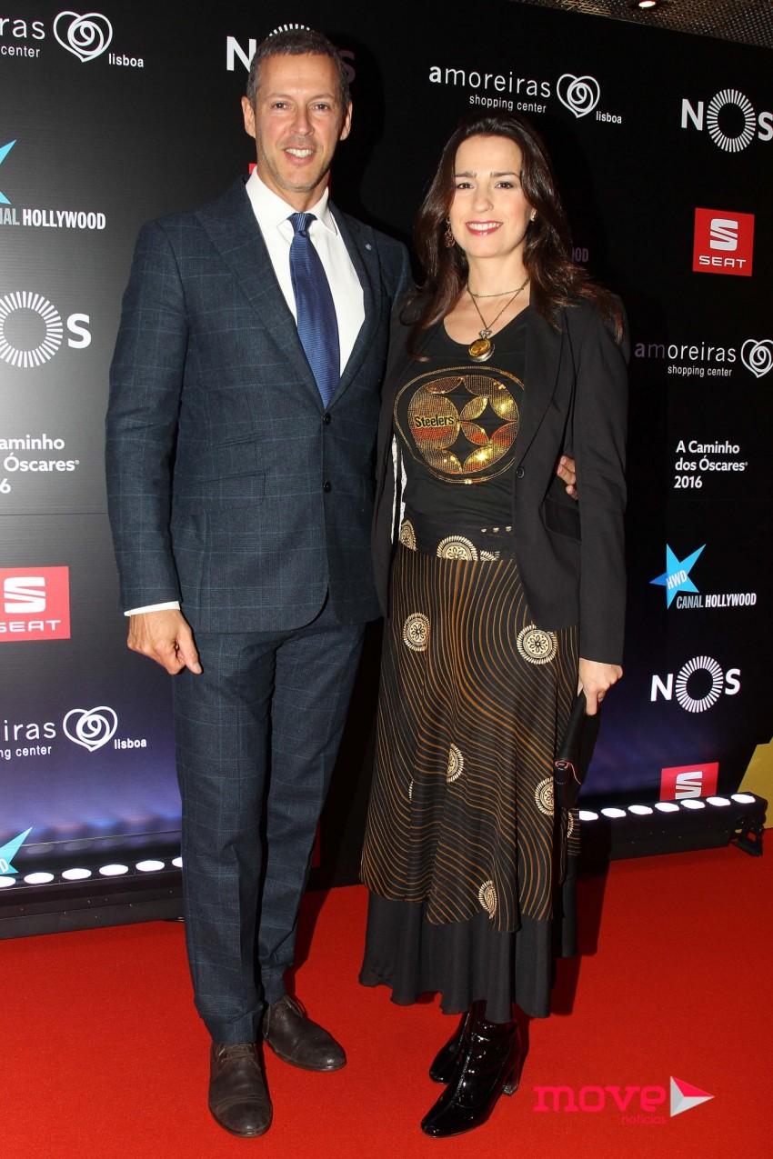 Pedro Reis e Ana Faria Pereira