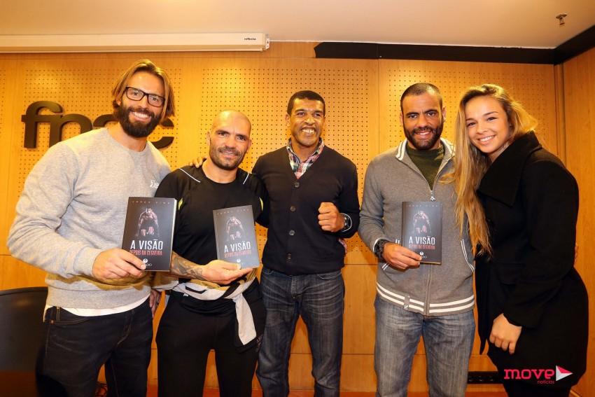 Ricardo Guedes, Vítor Sá, Jorge Pina, Miguel Costa e Juliana Rocha