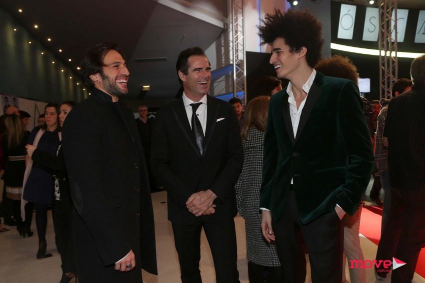 José Fidalgo, Pedro Lima e Luís Borges