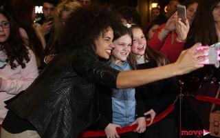 Ana Sofia Martins com os fãs