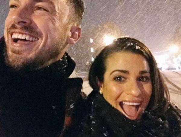 Lea Michele e Matthew Petz