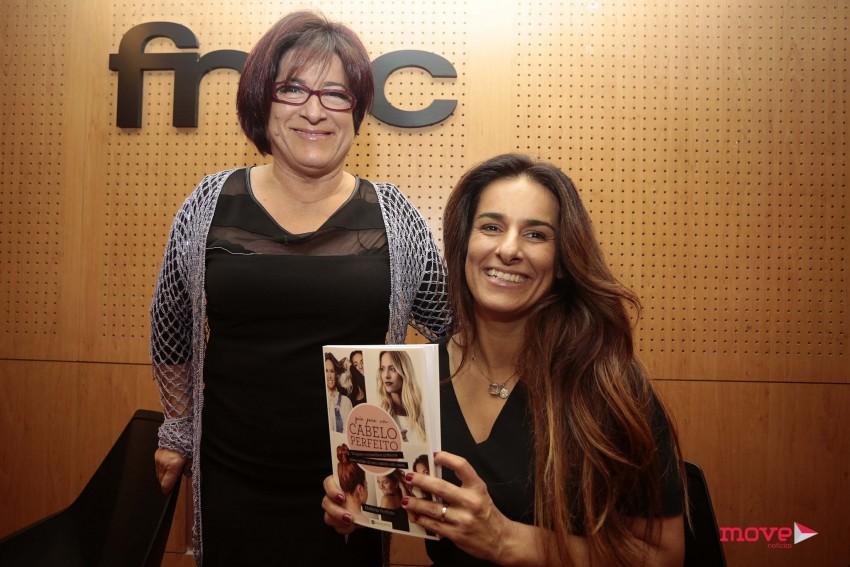 Mafalda com a mãe, a cabeleireira Helena Perfeito