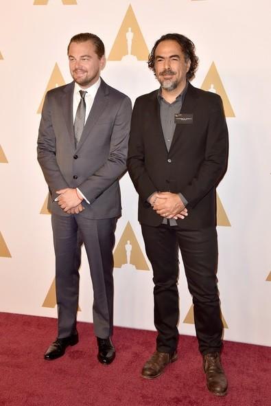 Leonardo DiCaprio e Alejandro Iñarritu