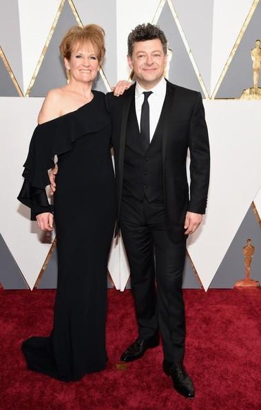 Andy Serkis e Lorraine Ashbourne