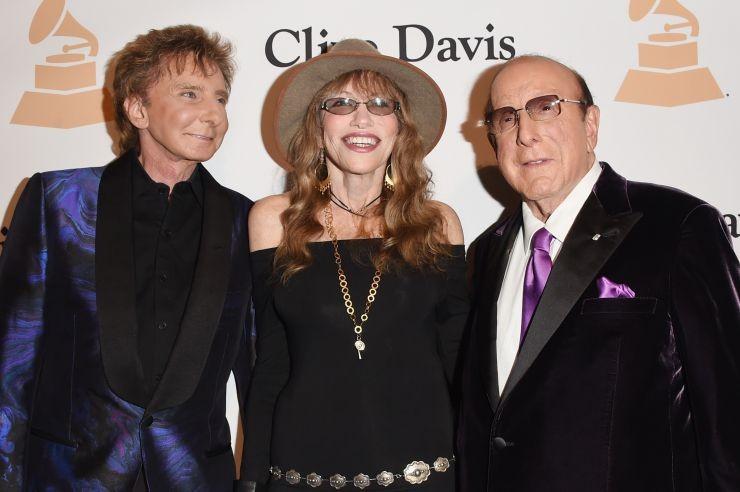 Barry Manilow, Carly Simon e Clive Davis