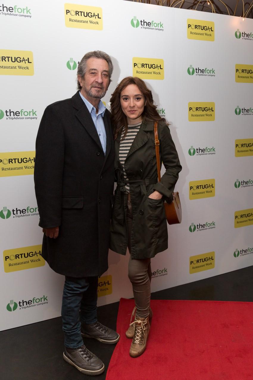 Carlos Areias e Rosa Costa