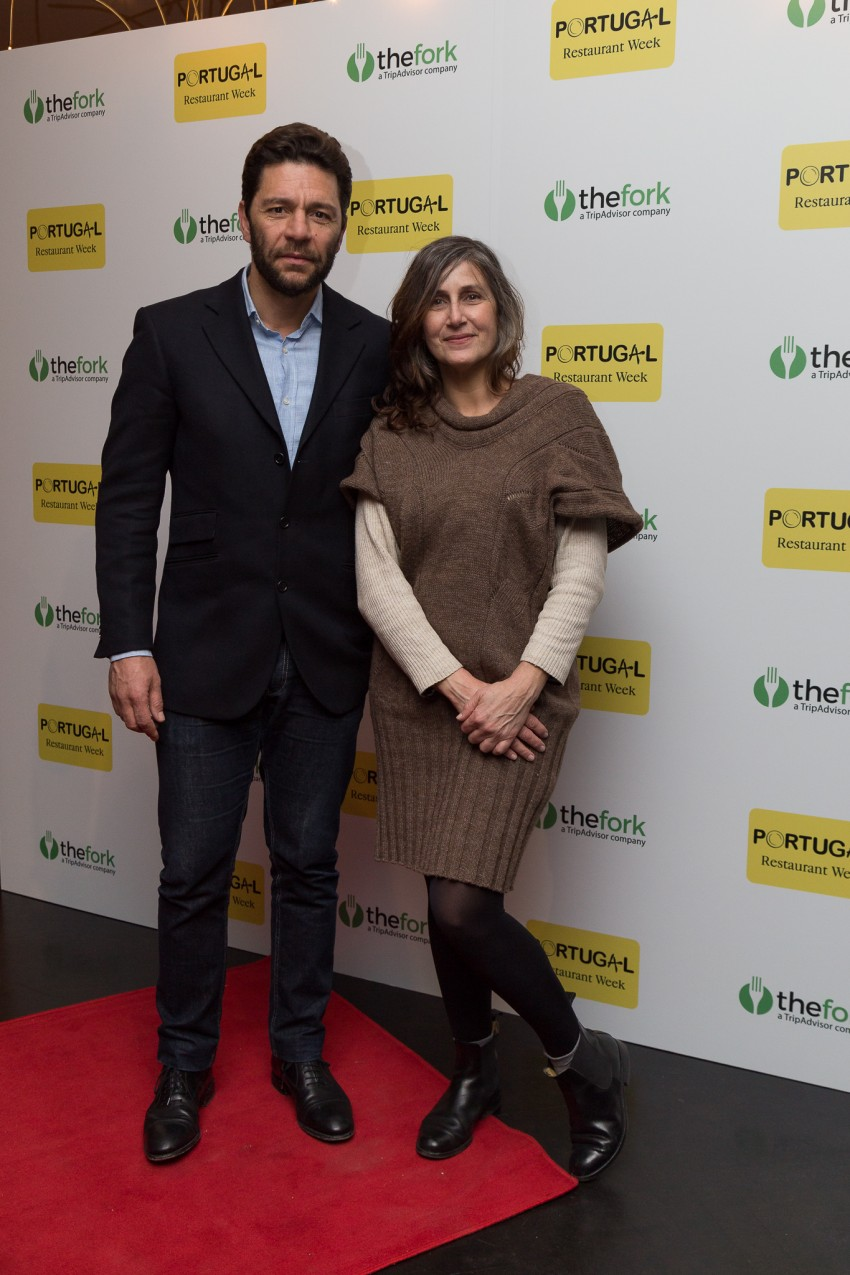 Eurico Lopes e Susana Borges