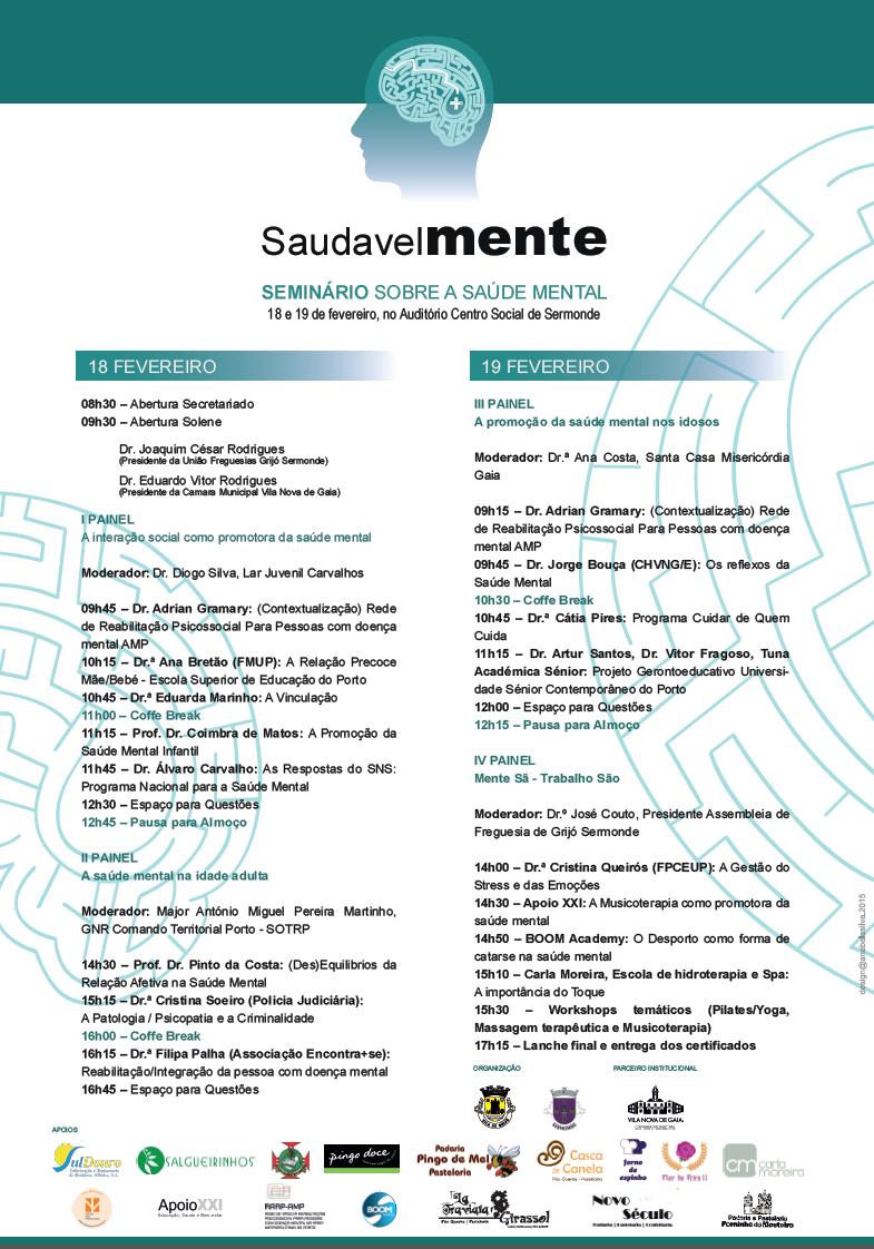 SaudavelMENTE -Programa