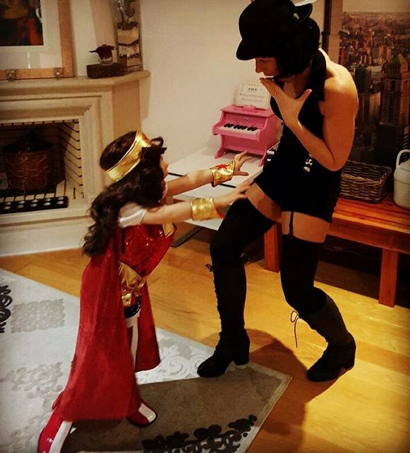 Paula Lobo Antunes e a filha, Beatriz
