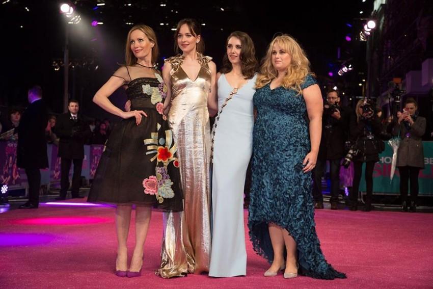 Leslie Mann, Dakota Johnson, Alison Brie e Rebel Wilson