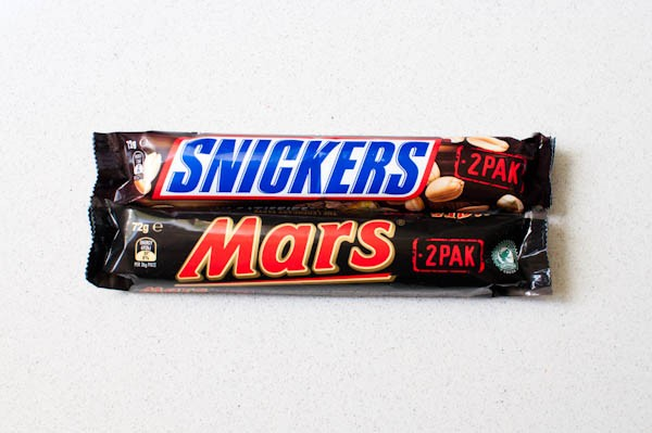 snickers mars