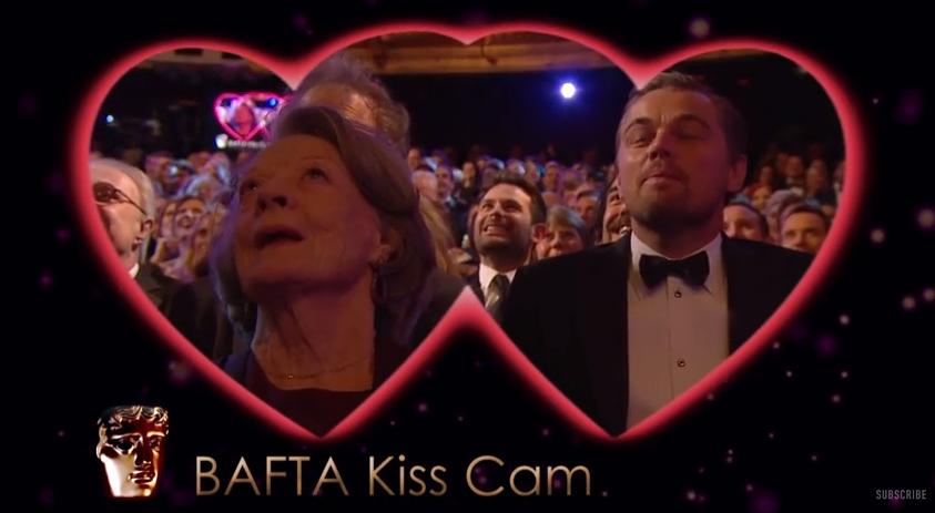 video kiss cam bafta