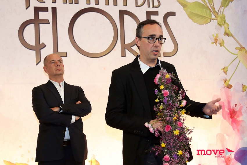 O autor da novela, Alexandre Castro